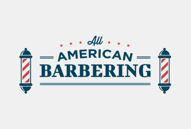 All American Barber Logo